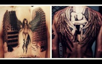 22 Ανδρικά τατουάζ με άγγελο για όλο το σώμα!