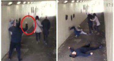 2 Τύποι πέταξαν ένα τσιγάρο σε κοπέλα μποξέρ και…