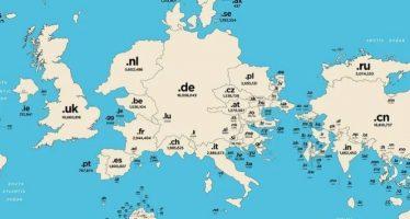 Ποια χώρα έχει τις περισσότερες καταλήξεις στο Ίντερνετ;