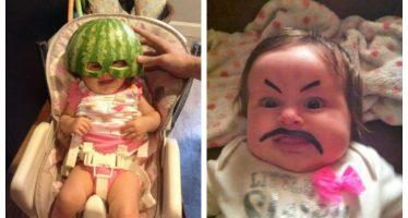Αυτό συμβαίνει αν αφήσεις μόνους τους μπαμπάδες με τα μωρά!