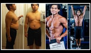 29χρονος έχασε 21 κιλά σε 4 μήνες και κέρδισε 250.000 δολάρια!