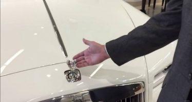Αυτός είναι ο λόγος που δεν μπορείς να κλέψεις το σήμα μιας Rolls Royce!