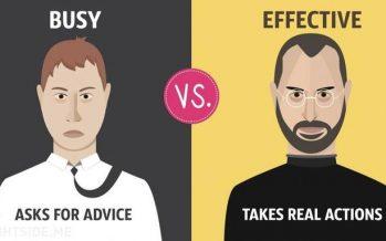 13 Διαφορές των πολυάσχολων και των αποτελεσματικών ανθρώπων!