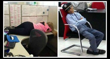 20 Άτομα που τους χτύπησε ο ύπνος την πόρτα στην δουλειά!