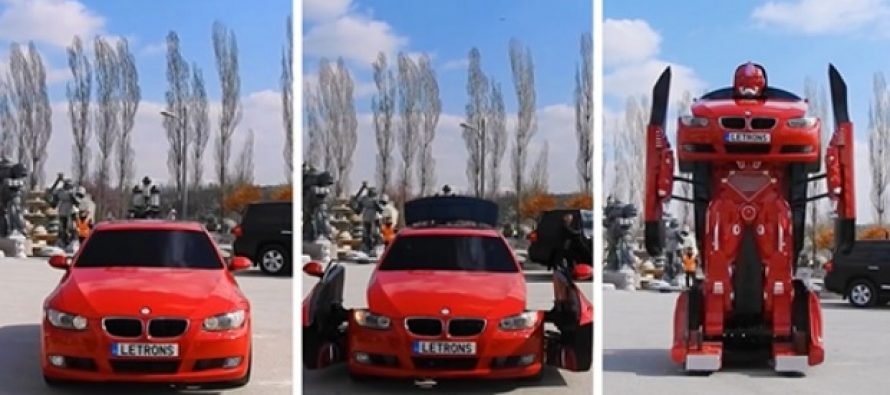 Τούρκοι μηχανικοί έφτιαξαν μια πραγματική BMW Transformer!