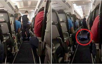 Σοκαρισμένοι επιβάτες αεροπλάνου ταξίδευαν δίπλα σε ένα πτώμα!