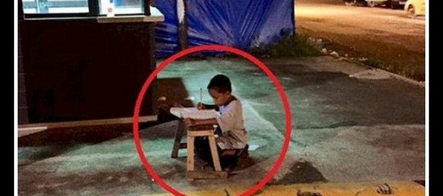 Αυτή η φωτογραφία έγινε viral και άλλαξε τη ζωή ενός 9χρονου αγοριού!