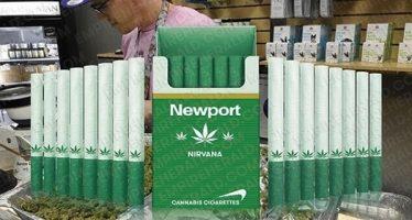 Τσιγάρα μαριχουάνας θα πωλούνται από το 2017!
