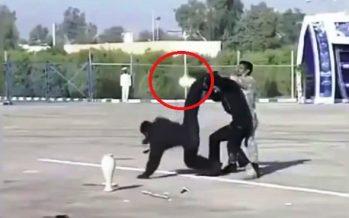 Η επίδειξη για κλάματα της Ιρανικής αστυνομίας!