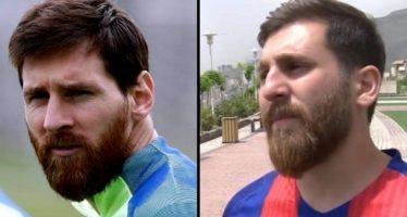 Ιρανός κάνει καριέρα χάρις στην ομοιότητα του με τον Μέσι!