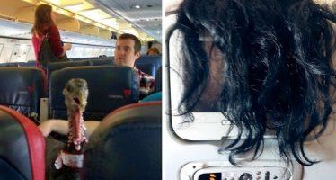 Οι πιο ενοχλητικοί επιβάτες αεροπλάνων που μπορείς να πετύχεις!