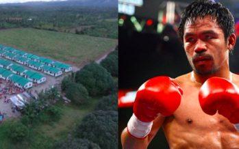 Παγκόσμιος Πρωταθλητής Μποξέρ χτίζει 1.000 σπίτια στις Φιλιππίνες!