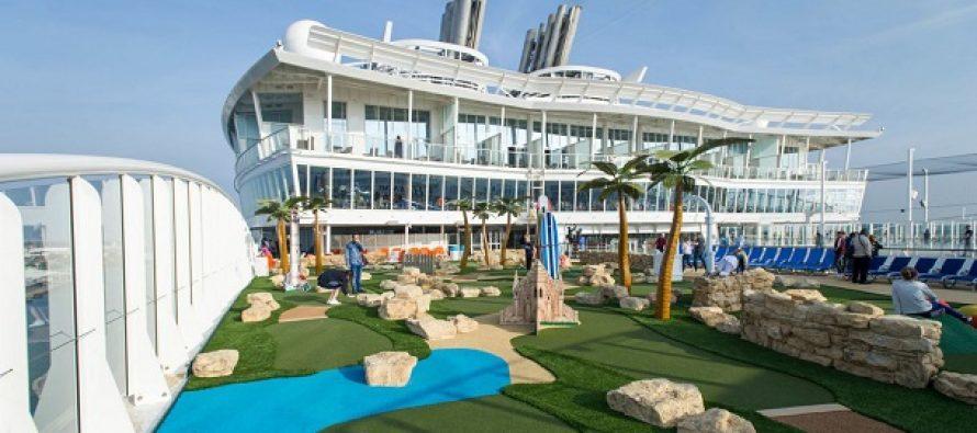 Το μεγαλύτερο κρουαζιερόπλοιο έχει 20 εστιατόρια και 19 πισίνες!