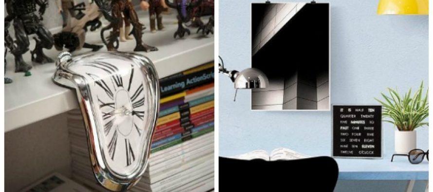 10 Περίεργα ρολόγια που θα ήθελες να έχεις σπίτι σου!