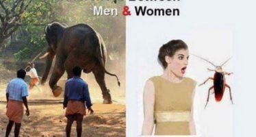 14 Ξεκαρδιστικές διαφορές ενός άνδρα με μια γυναίκα!