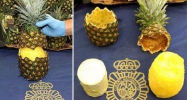 Βρέθηκαν 67 κιλά κοκαΐνης σε ανανάδες στη Μαδρίτη!