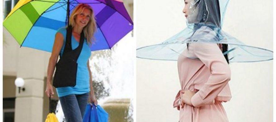 17 Μοναδικές και άκρως περίεργες ομπρέλες!