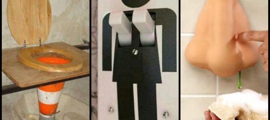 10 Χιουμοριστικές εικόνες από μπάνια και τουαλέτες!