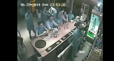 Ο πανηγυρισμός του μπάρμαν μετά το γκολ του Παπασταθόπουλου (βίντεο)
