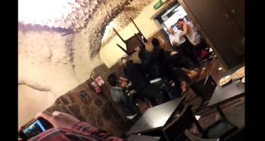 Ένας επικός καυγάς σε Ελληνικό εστιατόριο της Αυστραλίας (βίντεο)