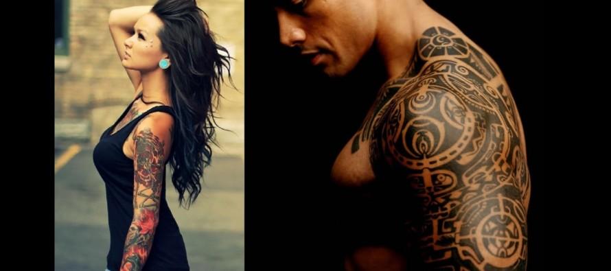 24 Ιδέες για ανδρικά και γυναικεία τατουάζ μανίκι