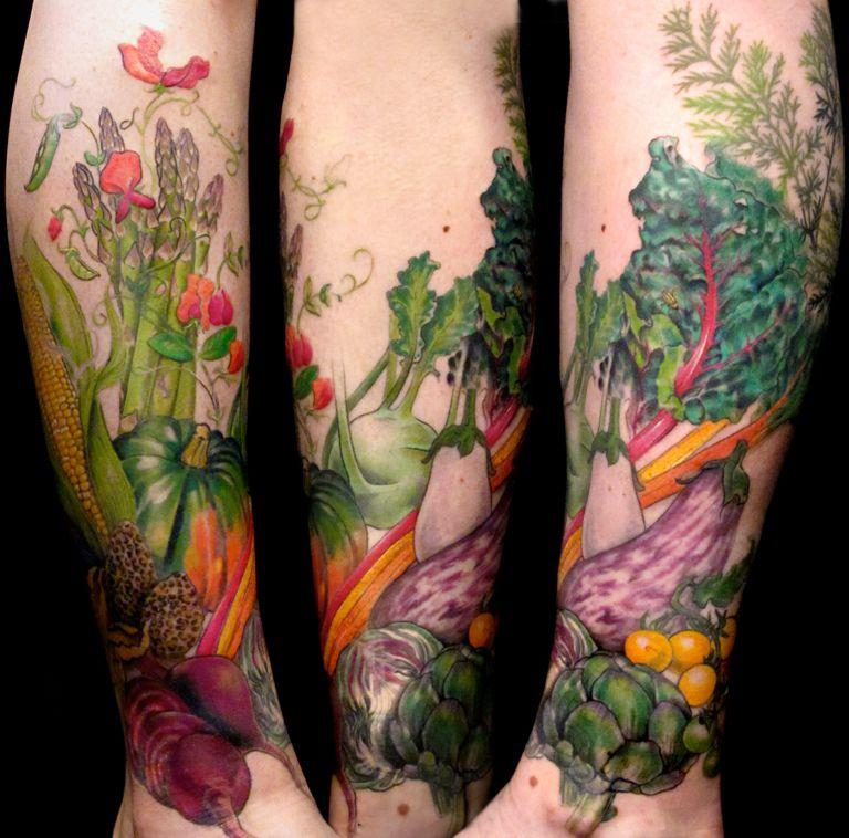12 Περίεργα tattoo για χορτοφάγους aggouria.net (3)