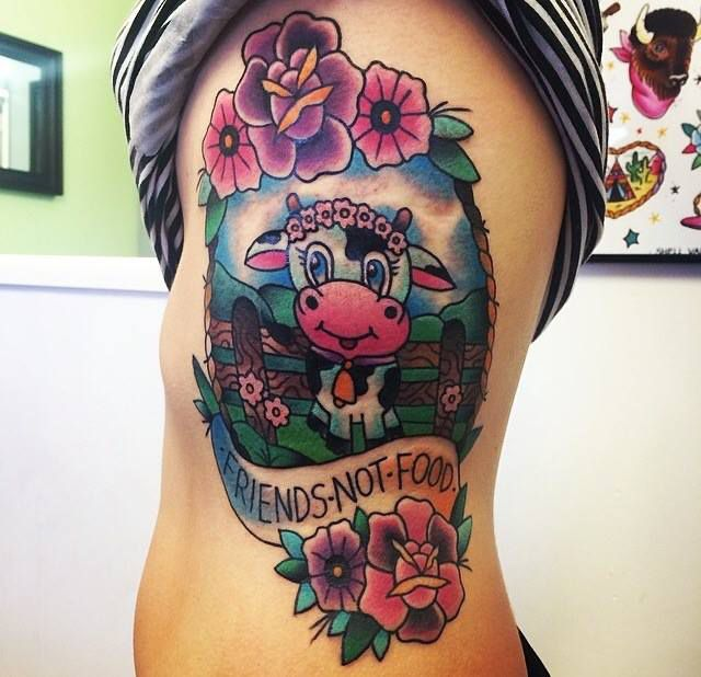 12 Περίεργα tattoo για χορτοφάγους aggouria.net (2)