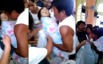 3χρονο κοριτσάκι ξύπνησε την ώρα της κηδείας της!