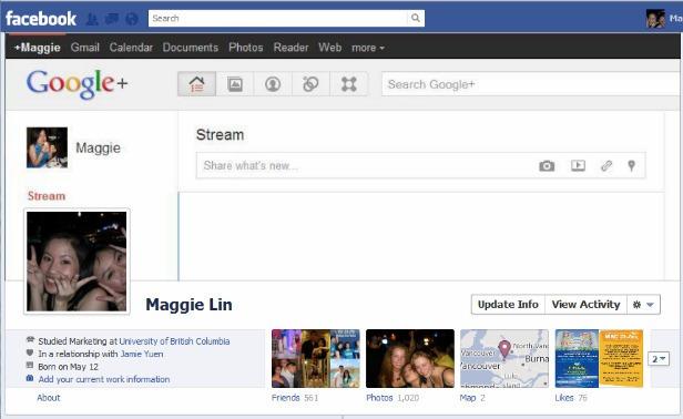 Profile στο Facebook με το καλύτερο Design