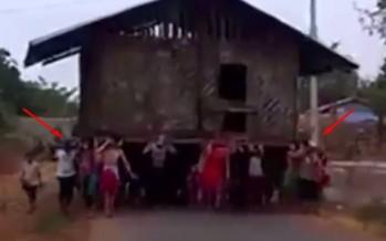 Έτσι κάνουν μετακόμιση στην Ταϊλάνδη (βίντεο)