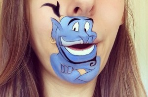 Genie make-up
