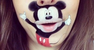 Mickey make-up