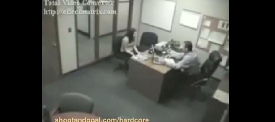 Μια επική αντίδραση γυναίκας στην απόλυση της (βίντεο)