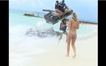 VIDEO: Απίστευτο ατύχημα με Jet Ski