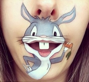bugs bunny make-up