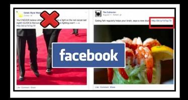 Το Facebook κατά του Spam αλλάζει ξανά τον αλγόριθμο του!
