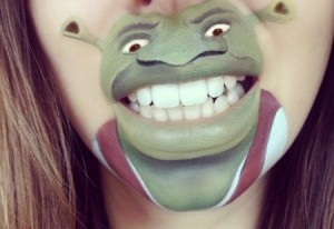 shrek make-up