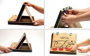 DIY: Δες τι μπορείς να φτιάξεις από κουτιά πίτσας!