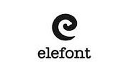 elefont logo