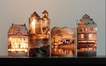 DIY: Όμορφη κατασκευή ρεσώ κάστρου που φωτίζει!