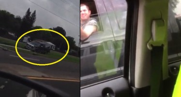 VIDEO: Έκανε τον «Μάγκα» και τον τιμώρησε το Κάρμα του!