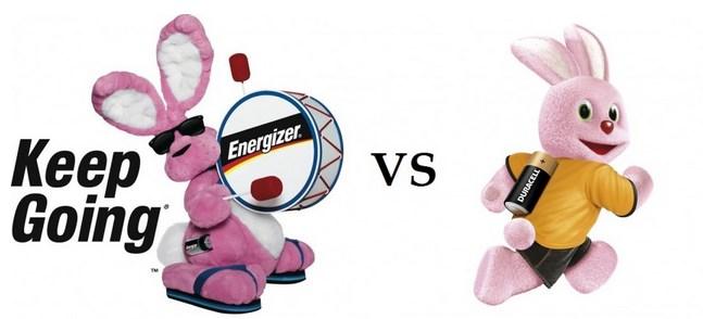 Energizer vs Duracell