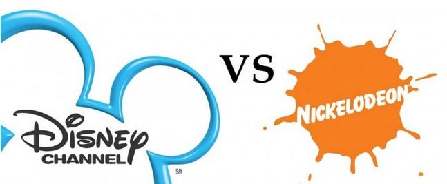 Nickelodeon vs Disney Channel