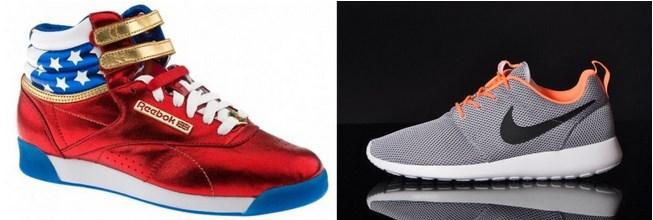 Reebok Nike