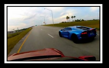 Video: Tesla S Vs Lamborghini Aventador!
