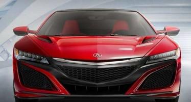 Acura NSX 2016: Δες την παρουσίαση του!