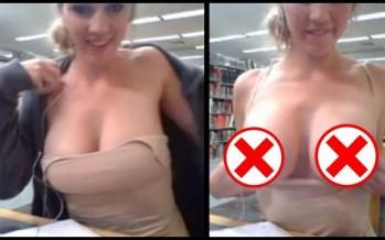 Βίντεο: 19χρονη τα πέταξε έξω στην βιβλιοθήκη του Πανεπιστημίου!