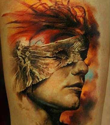 tattoo portreta
