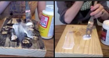 DIY: Μετέτρεψε ένα κομμάτι ξύλου σε φωτογραφία!