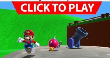 Παίξε Super Mario 64 από τον browser σου!